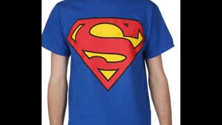 Superman Printed Forest Green Colour T Shirts - Video