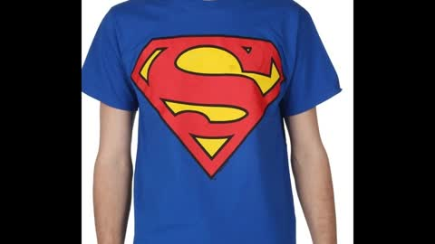 Superman Printed Forest Green Colour T Shirts