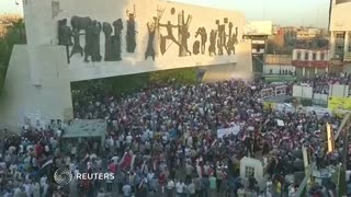 Anti-corruption protests in Iraq - Video