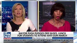 Laura Ingraham spars with Balitmore Mayor further - Video