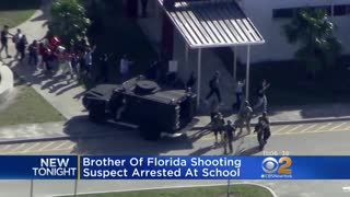 Brother of Confessed Parkland Shooter Arrested at High School After Being Warned to Stay Away - Video