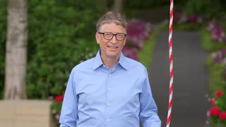 Bill Gates ALS Ice Bucket Challenge - Video