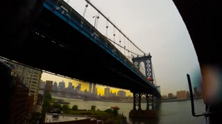 Time-lapse of NYC storm from Brooklyn - Video