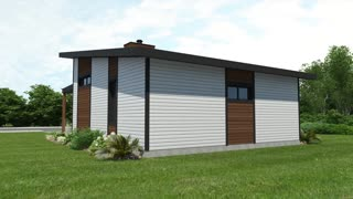 Best low cost modern house plan by Drummond House Plans (plan 1909)