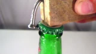 DIY: How to create a homemade bottle opener - Video
