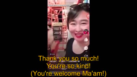 Asian Woman Films Herself Buying Out Face Masks In Central Florida!