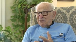After Six Heart Bypass Surgeries, WWII Veteran's Family Celebrated His 100th Birthday With a Massive - Video
