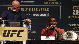 Jon 'Bones' Jones Pulled From UFC 200 After Testing Positive For Banned Substance - Video