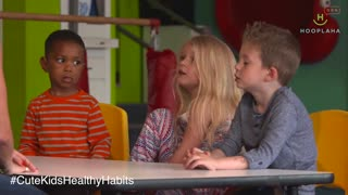 Cute Kids Share How To Be Healthy And Fit! - Video