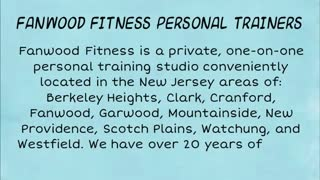 NJ personal trainers - Video