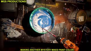 MIXING SOME OLD PAINT