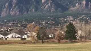 Cheyenne Mountain Range  - Video