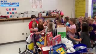 3rd Grader Loses Everything In House Fire