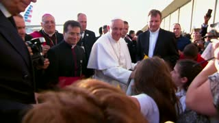 Pope Francis arrives in Big Apple - Video