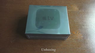 Unboxing the new Apple TV - Video