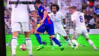 Golazo de Rakitic vs Real Madrid
