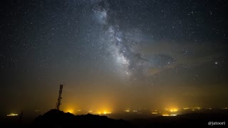 Jaw-dropping Milky Way time lapse captured over Spain - Video