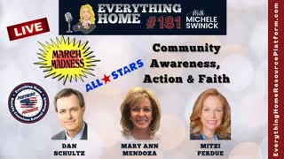 181 LIVE: MARCH MASKLESS MADNESS - Community Awareness, Action & Faith - All Star Patriotic Partners