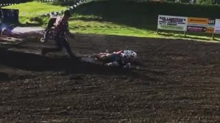 Collab copyright protection - little kid motocross wheelie fail