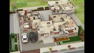 3D Villa Floor Plan Studio - Video