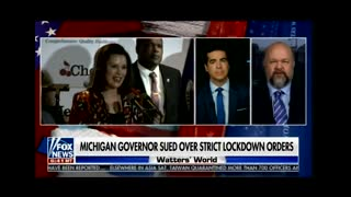 Robert Barnes announces suit against Michigan governor