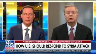 Lindsey Graham: Bashar Assad 'is a legitimate war criminal'