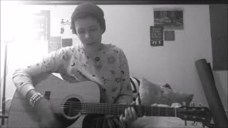 skinny love guitar cover - tessa may smith - Video