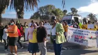 Gugulethu Community Marches to the Police Station