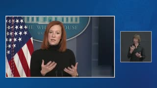Jen Psaki talks about foreign policy