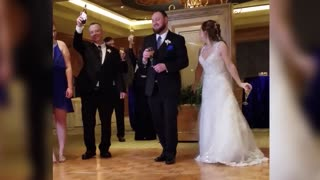 Little Girl Gives The Best Speech At Her Uncle's Wedding - Video