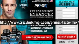 http://www.crazybulkmagic.com/primex-testo-max/ - Video