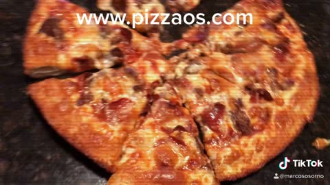 Double Dough Meat lovers Pizza OS Style