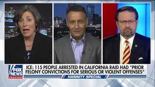 Judge Jeanine Pirro and Sebastian Gorka destroy Oakland mayor who tipped off illegal aliens 2 - Video