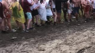 Festival Mud Slip and Slide - Video
