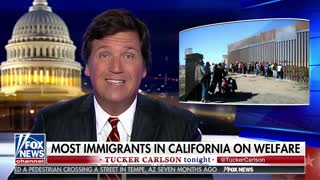 Tucker: 'Low-skilled immigration overwhelmed California' - Video