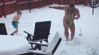 Snow Angel Challenge - Video