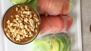 How to make summer spring rolls - 1MinuteRecipes