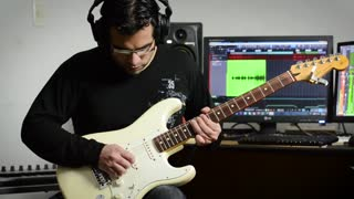 "Cover con guitarra eléctrica de ""Rise"" de Katy Perry - Video"