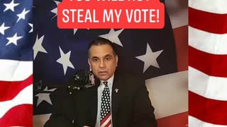 Joe Biden, you criminal...you will not steal my vote!