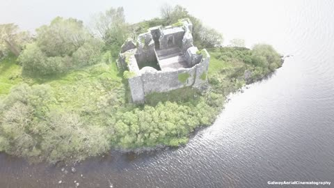 Drone captures oldest fortress of its kind in Ireland