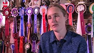 Youngest Show Jumper Is Just 2 Years Old! - Video