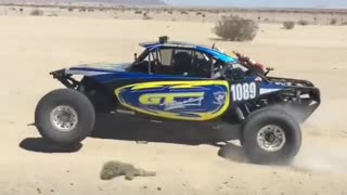 Desert Race Car Testing