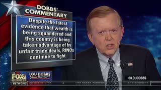 "Lou Dobbs warns Republican leaders: Oppose Trump on tariffs and you'll be ""among the unemployed"" - Video"