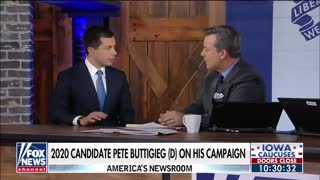 Ed Henry asks Buttigieg how he can call Trump racist consider he has helped black voters