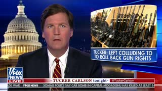 Tucker Carlson unloads on companies trying to take away 2A rights