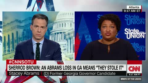 Stacey Abrams refuses to acknowledge Brian Kemp's victory