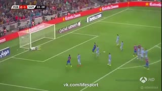 Lionel Messi Insane Free Kick Goal vs Sampdoria - Video