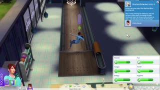 Sims 4 bowling