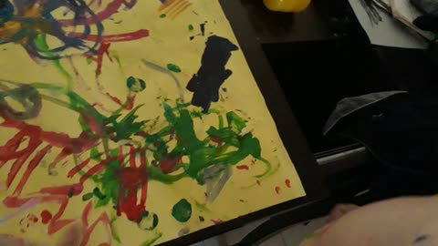 2 year old child art prodigy