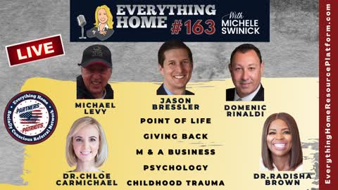 163 LIVE: Point Of Life, Giving Back, Mergers & Acquisitions, Psychology, Childhood Trauma